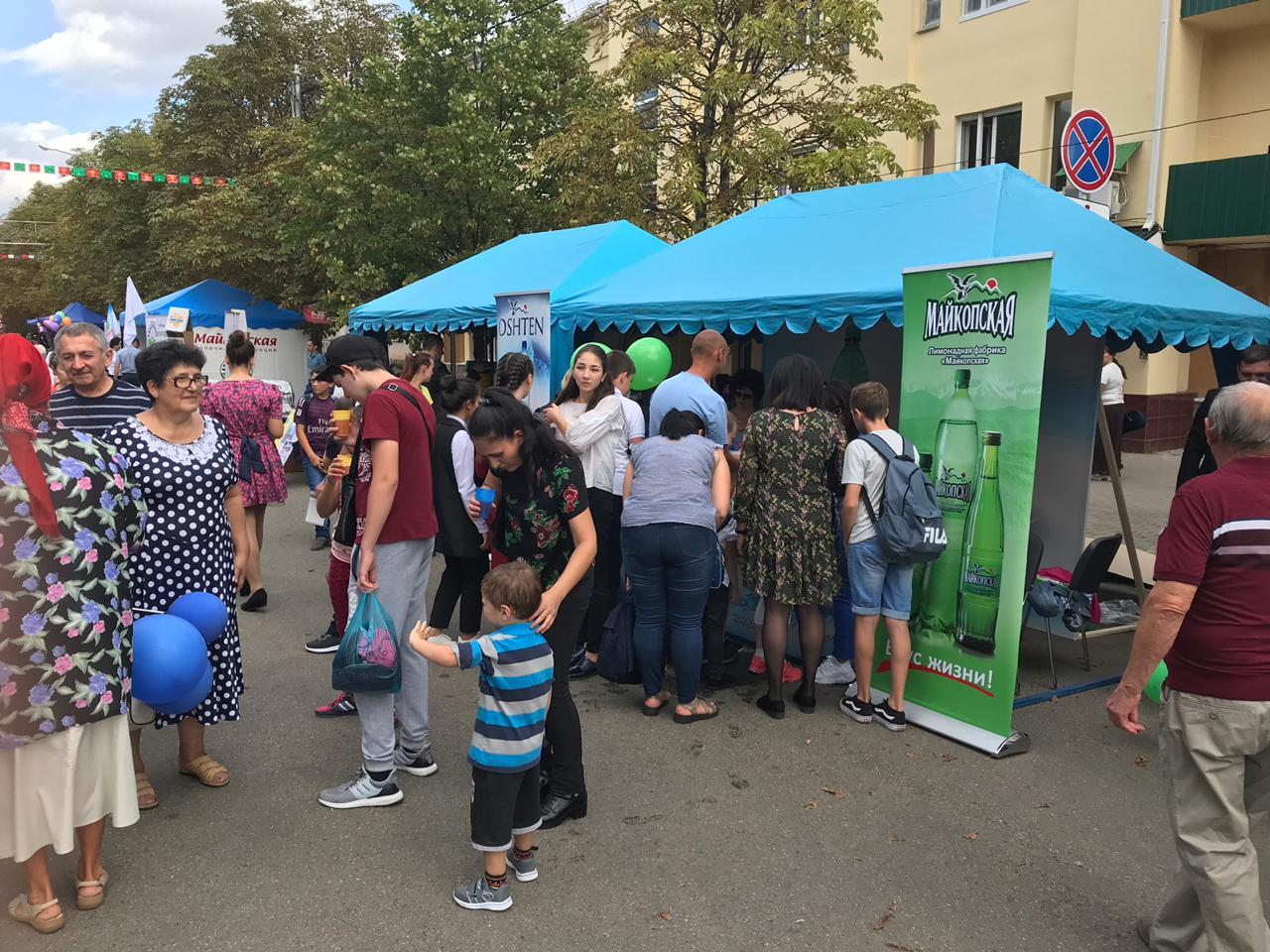 «Майкопская» угощает своей продукцией на Дне города Майкопа