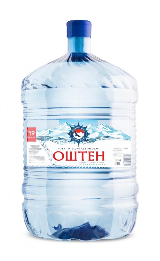 Вода негазированная «Оштен» 19 л.