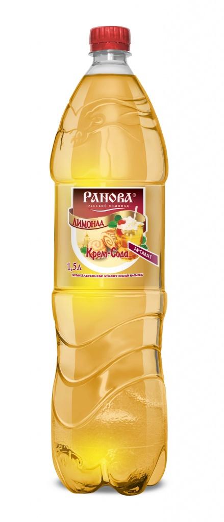 Лимонад Крем-Сода 1,5 л.