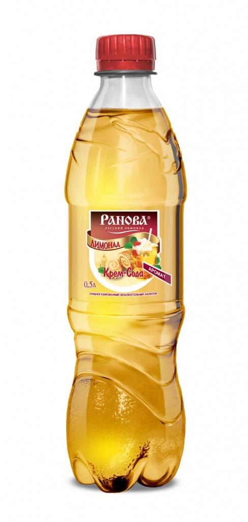 Лимонад Крем-Сода 0,5 л.